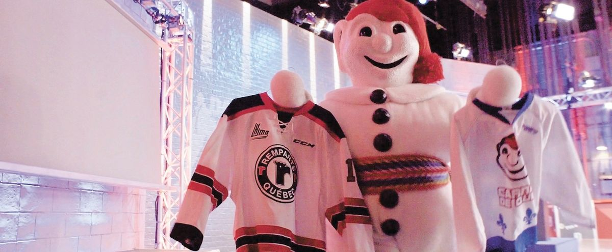 Bonhomme with Jersey