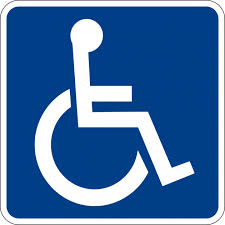 Wheel chair symbol